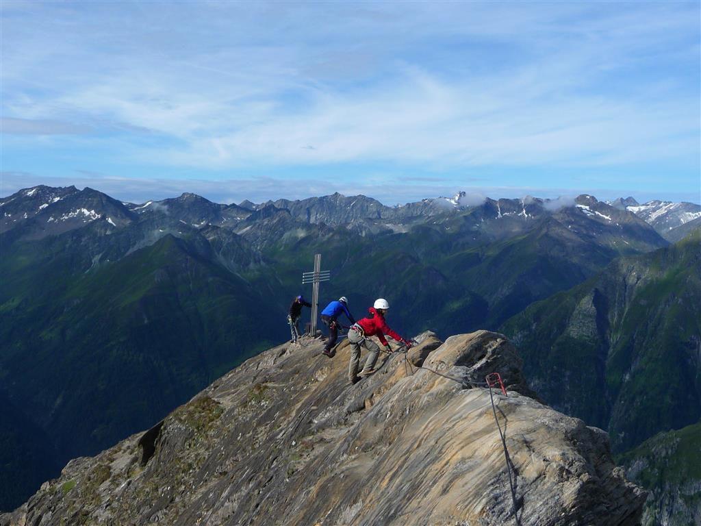 Gipfelgrat der Roten Säule / Osttirol / Virgental