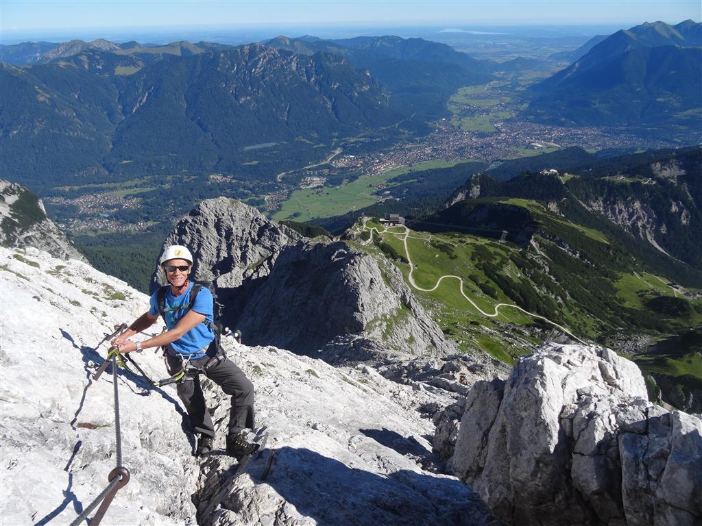 Klettersteig Alpspitze - Alpspitz Ferrata - Garmisch Partenkirchen