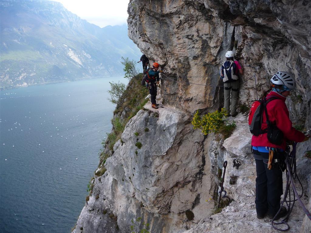 Sentiero Contrabbandieri Massimo Torti - Schmugglersteig Gardasee
