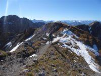 Klettersteig Mittenwald : Mittenwalder höhenweg mit bergführer karwendel