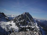 Klettersteig Tajakante : Klettersteig tajakante vorderer tajakopf mieminger kette