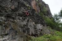 Klettersteig Decin : Bunker felskapelle neuer klettersteig und die urtschechen