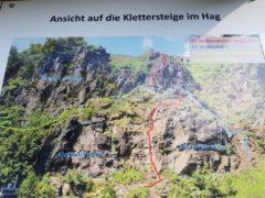 Klettersteig Wolkenstein : Klettersteig wolkensteiner hag und wolfspfad