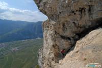 Klettersteig Roen : Klettersteig monte roen