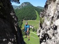 Klettersteig Walchsee : Bergkameraden klettersteig harauer spitze