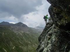 Klettersteig Ifinger : Klettersteige rund um den ifinger km bergwelten