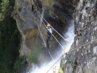 Klettersteig Lehner Wasserfall : Klettersteig lehner wasserfall