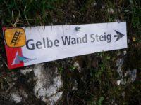 Klettersteig Gelbe Wand : Tegelberg klettersteig mit bergführer