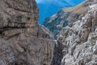 Klettersteig Croda Dei Toni : Via ferrata severino casara klettersteig rund um den zwölfer