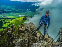 Klettersteig Kitzbühel : Tristkogel klettersteig