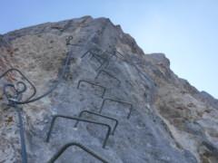Klettersteig Daubenhorn : Via ferrata leukerbad gemmi daubenhorn