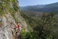 Klettersteige Gardasee : Die schönsten klettersteige am gardasee Übersichtskarte