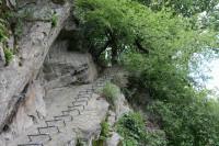 Klettersteig Rhein Boppard : Tour auf dem mittelrhein klettersteig youtube