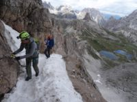 Klettersteig Paternkofel : Schartensteig und paternkofel