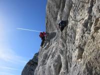 Klettersteig Hochthron : Berchtesgadener hochthronsteig klettersteig durch die südwand auf