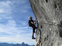 Klettersteig Untersberg : Berchtesgadener hochthronsteig klettersteig durch die südwand auf