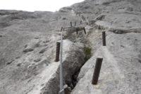 Klettersteig Johann Topo : Johann klettersteig dachstein