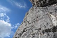 Klettersteig Stopselzieher : Klettersteig stopselzieher zugspitze