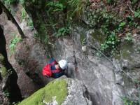 Klettersteig Netstal : Klettersteig punteglias surselva