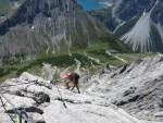 Klettersteig Saulakopf : Saulakopf klettersteig
