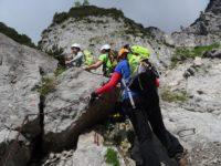 Klettersteig Klamml : Klettersteig klamml wilder kaiser