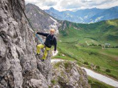 Klettersteig Kanzelwand : Kleinwalsertal kanzelwand klettersteig fototapete u fototapeten