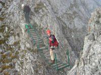 Klettersteig Innsbruck Nordkette : Innsbrucker klettersteig