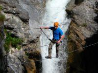 Klettersteig Lienz : Klettersteig kranewitsteig