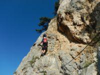 Pittentaler Klettersteig : Pittentaler klettersteig türkensturz