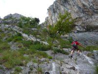 Klettersteig Arco : Klettersteig monte colodri arco prabi am gardasee