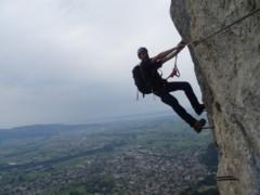Via Kapf Klettersteig : Via kapf klettersteig