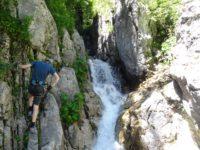 Klettersteig Fallbach : Klostertaler klettersteig am fallbach