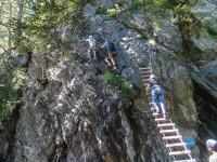 Klettersteig Zillertal : Familienklettersteig mayrhofen kindergerechter klettersteig und