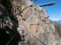 Klettersteig Tabaretta : Tabaretta klettersteig