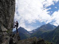 Klettersteig Oetztal : Geierwand klettersteig in haiming nähe von Ötztal oetztal