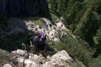 Klettersteig Grünstein : Klaus fengler grünstein klettersteig