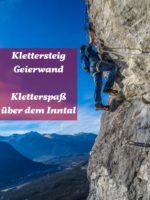 Klettersteig Geierwand bei Haminig