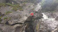 klettersteig-simms-wasserfall -Bild: Tim Treubrodt