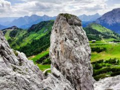 Klettersteig Däumling : Mittel