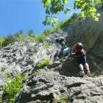Klettersteig Zahme Gams