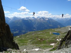 Klettersteig Basel : Pro life family ausflug klettersteig engstligenalp