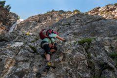 Klettersteig Coburger Hütte : Seebener wasserfall klettersteig ehrwald coburger hütte tirol