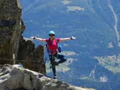 Klettersteig Interlaken : Klettersteig eggishorn