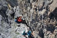 Klettersteig Tabaretta : Tisser klettersteig