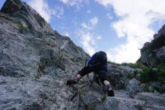 Pidinger Klettersteig : Pidinger klettersteig auf den hochstaufen in berchtesgadener alpen