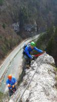 Klettersteig Türkenkopf - Bild: Tomaž Opresnik