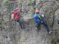 Klettersteig Franken : Höhenglücksteig