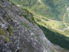 Fallbach Klettersteig Vorarlberg : Klettersteige vorarlberg