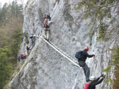Klettersteig Seewand : Mein land dein klettersteig
