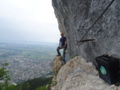 Klettersteig Via Kapf : Via kapf klettersteig